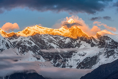 2017年西藏林芝自驾游看南迦巴瓦峰